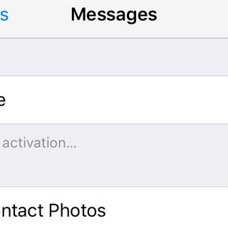 how to fix imessage activation error